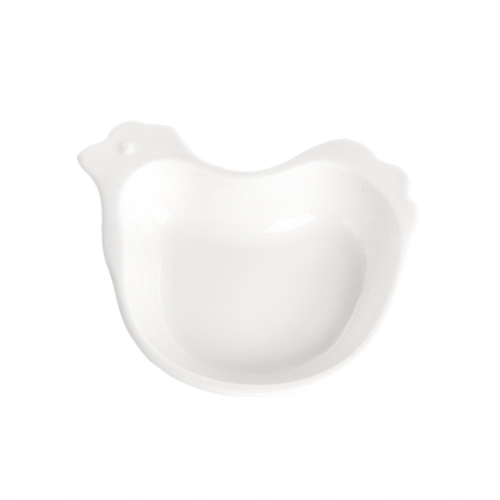 Talerz / miska / naczynie kurka porcelana święta Wielkanoc Altom Design 10 cm
