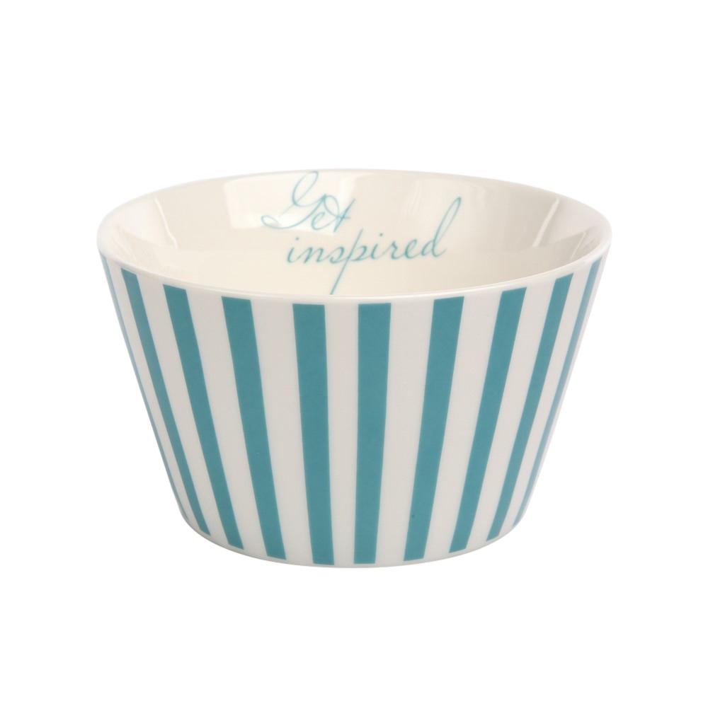 Miska / salaterka porcelanowa Altom Design Melania turkus 12,5 cm