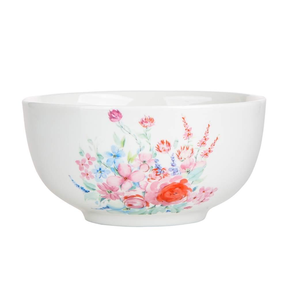 Miska / salaterka porcelanowa Altom Design Pastelowy Kwiat 14 cm