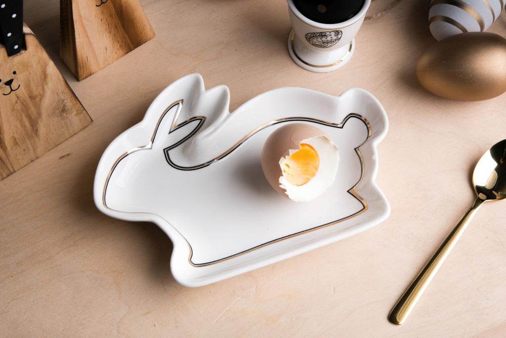 Naczynie / miseczka porcelanowa króliczek święta Wielkanoc Altom Design Modern 17,5 cm
