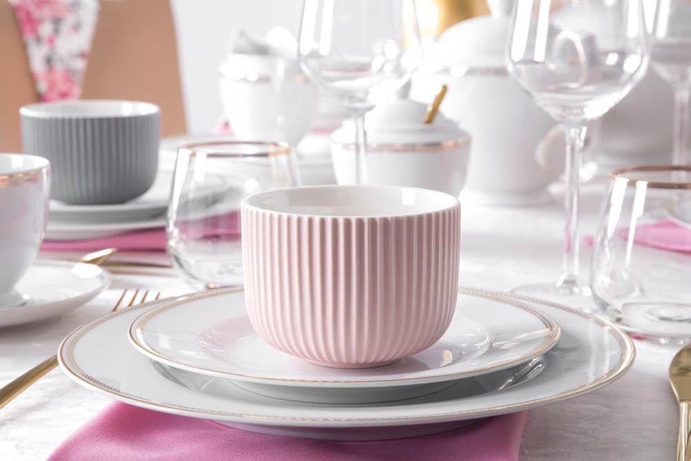 Salaterka / dipówka porcelana Altom Design Ballerina 9,5 cm różowa