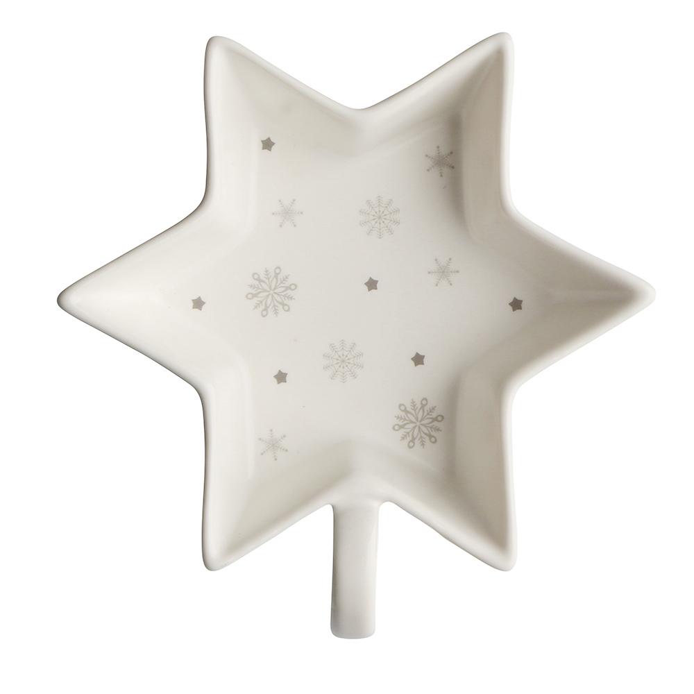 Salaterka / dipówka porcelana święta Boże Narodzenie Altom Design Ballerina Winter Gwiazdka 12 cm