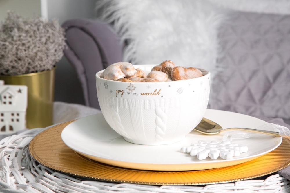 Salaterka / miseczka porcelanowa święta Boże Narodzenie Altom Design Ballerina Winter 14 cm