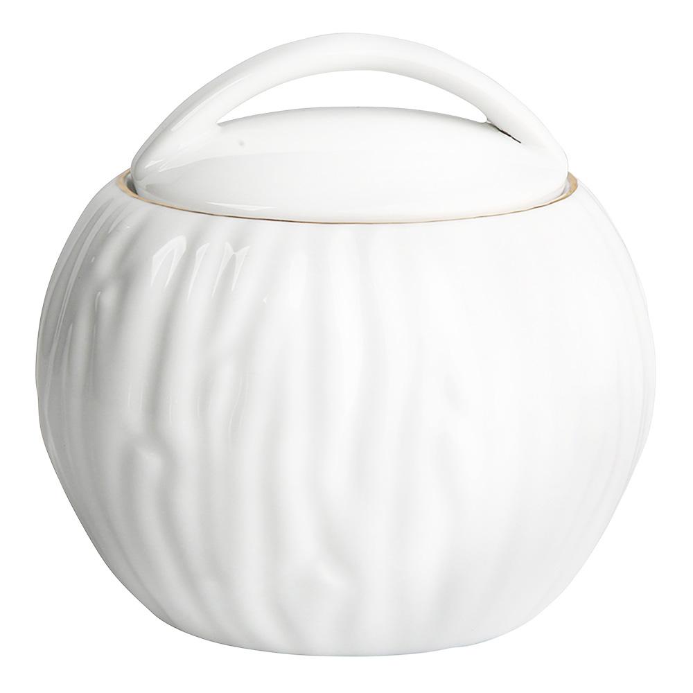 Cukiernica porcelanowa MariaPaula Natura Złota Linia 330 ml