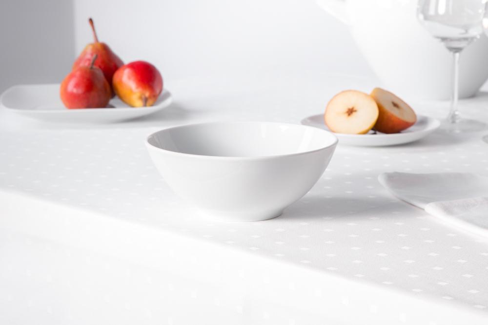Salaterka / miska porcelana MariaPaula Moderna Biała 17 cm okrągła