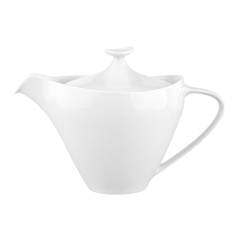 Imbryk / czajnik do herbaty / do kawy porcelana MariaPaula Moderna Biała 1 l