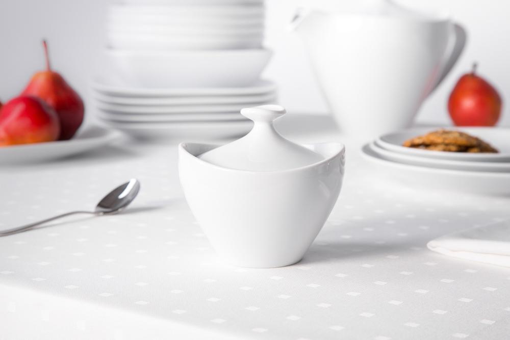 Cukiernica porcelana MariaPaula Moderna Biała 200 ml