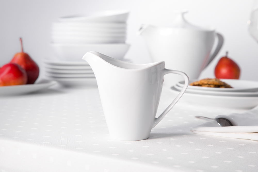 Mlecznik / dzbanek do mleka porcelana MariaPaula Moderna Biała 250 ml