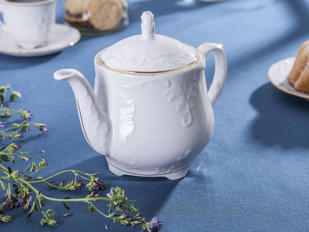 Czajnik porcelana Ćmielów Rococo 3604 1,1 l