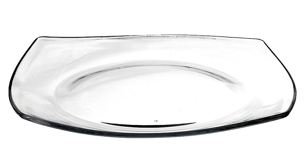 Talerz szklany Bormioli Rocco Eclissi 27 cm