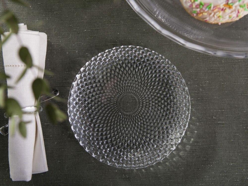 Talerz deserowy szklany Altom Design Polaris 18 cm