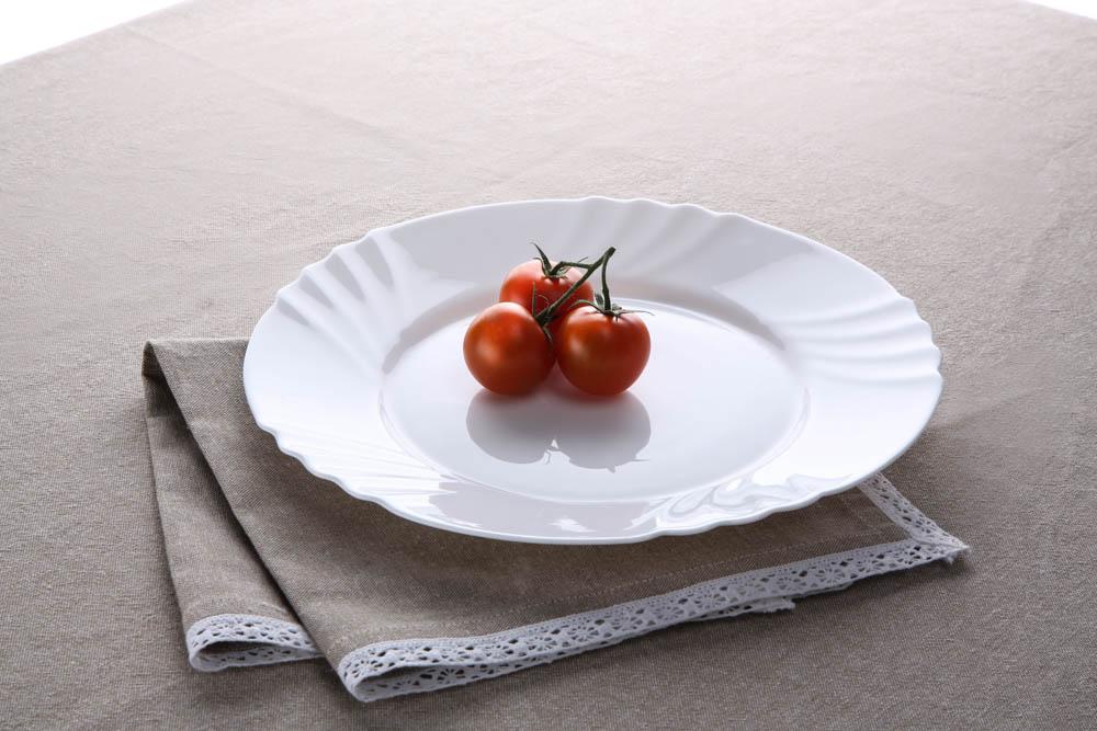Talerz deserowy ze szkła hartowanego COK Nilo 20 cm