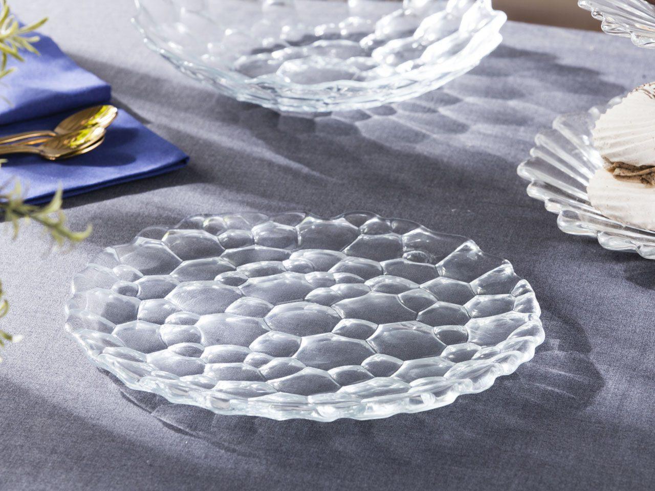 Talerz / Patera na ciasto i tort / Na owoce / Łakocie Altom Design Aqua 27 cm