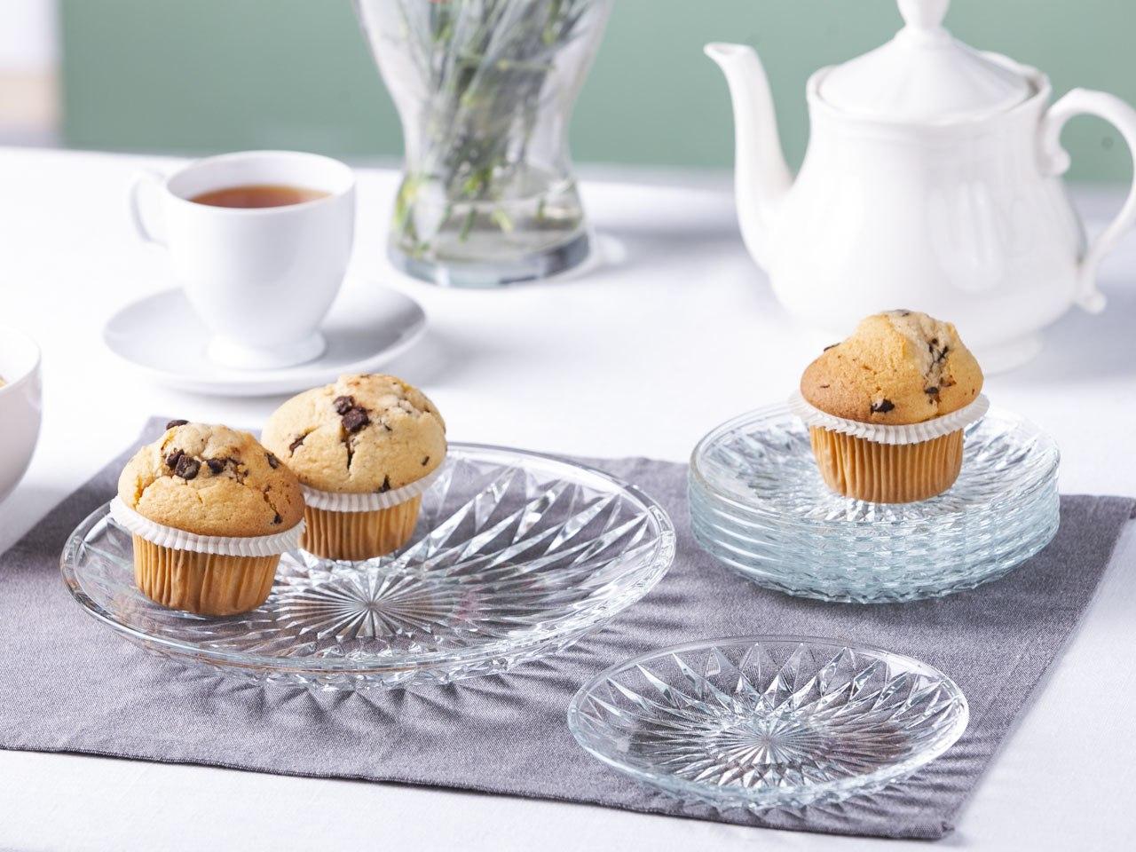 Zestaw deserowy do ciasta szklany Altom Design Stella (7 elementów)