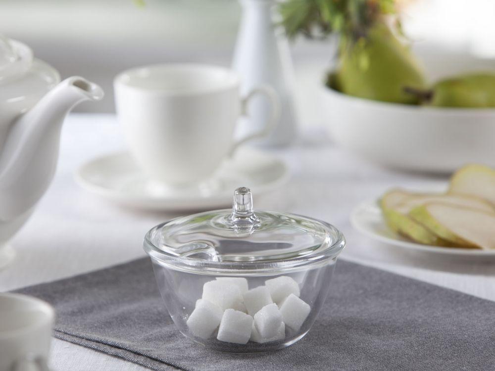 Cukierniczka szklana okrągła 12 cm