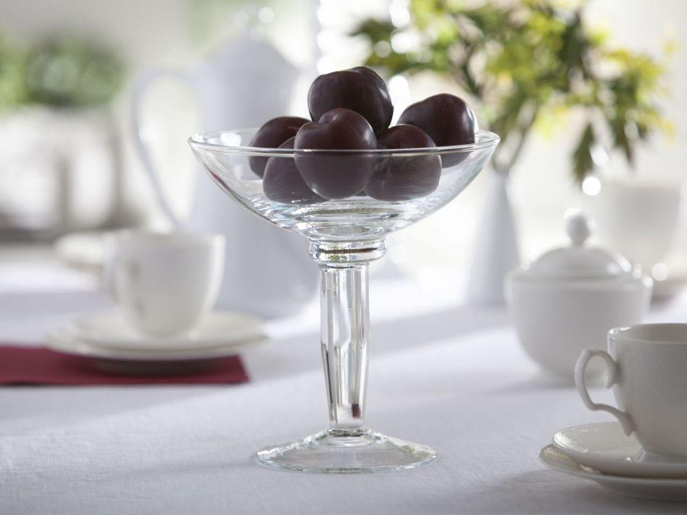Patera na owoce / owocarka szklana 20 cm