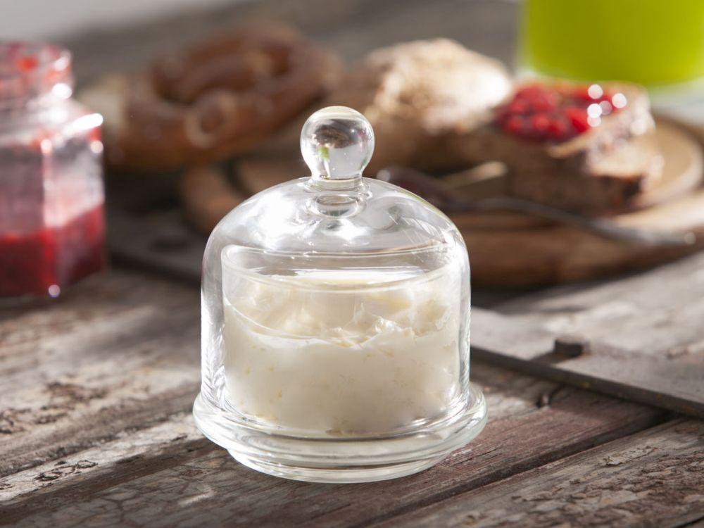 Maselnica / pojemnik szklany na masło Edwanex