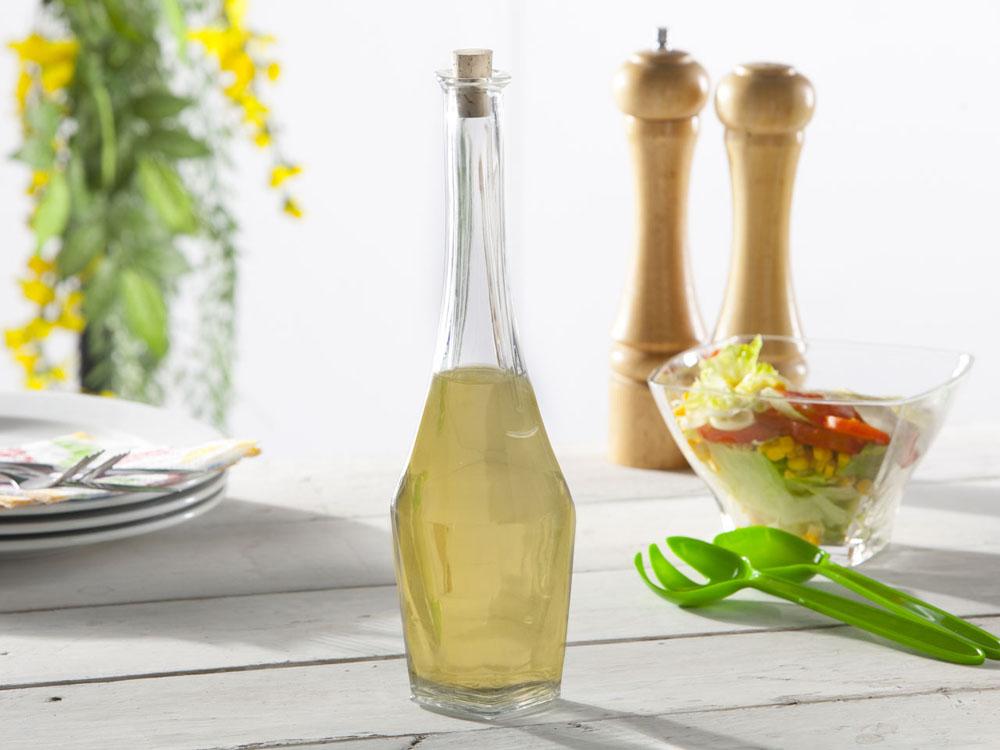 Butelka / karafka szklana na oliwę Hrastnik Stephanie 700 ml z korkiem