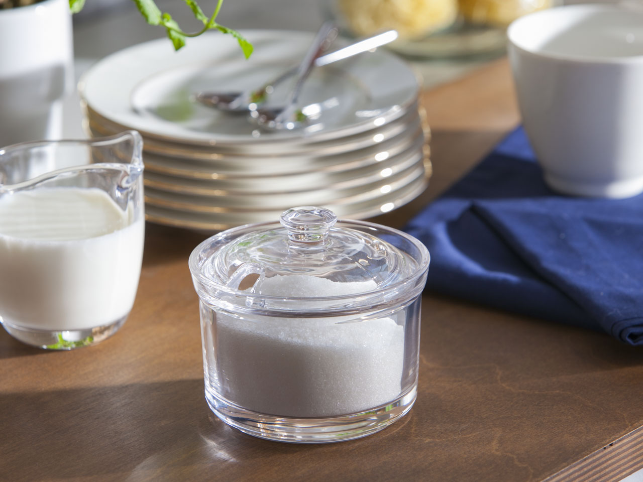 Cukierniczka szklana okrągła Altom Design 10 cm
