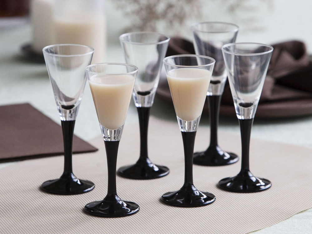 Onyx set of 6 liqueur glasses 50ml