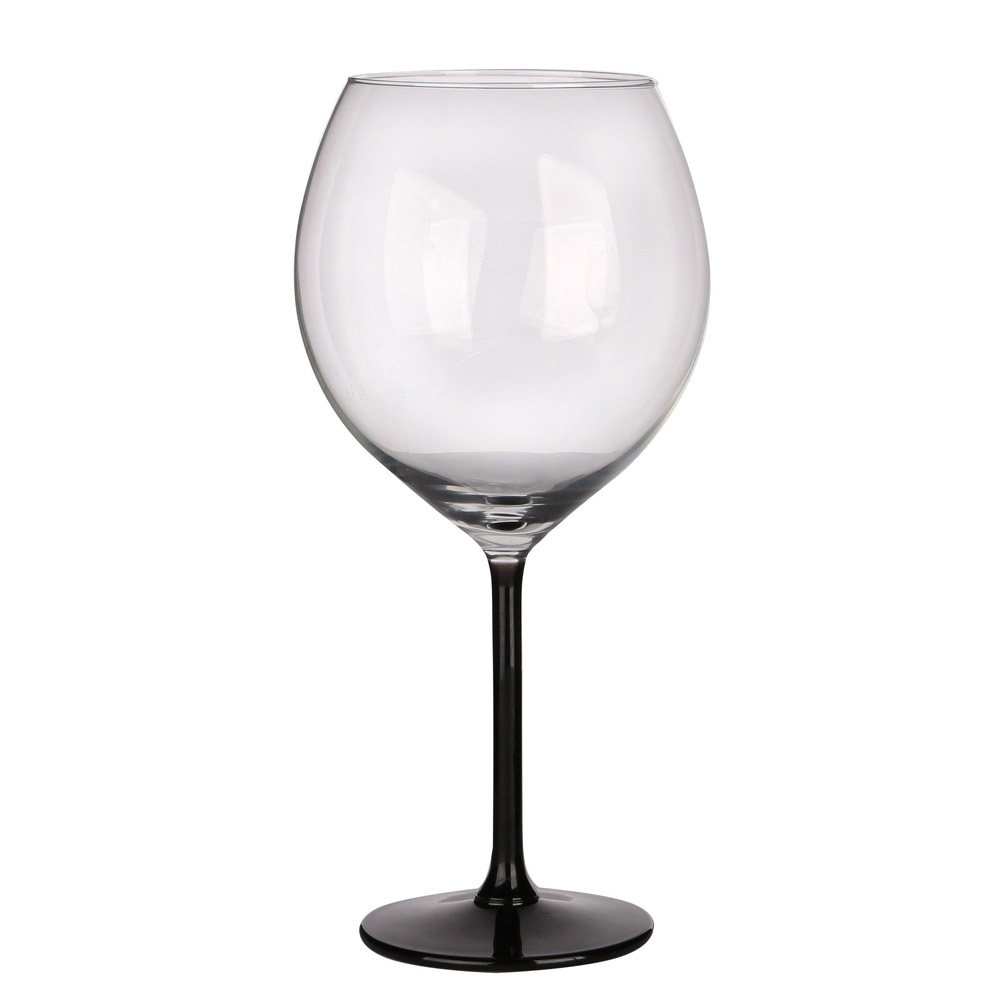 XXL GLASSES WITH BLACK STEM 700ML