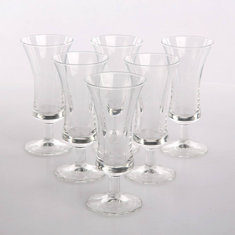 Set of 6 liqueur glasses 50ml