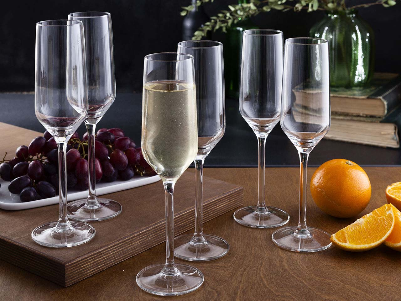 Kieliszki do szampana Altom Design Rubin 220 ml (6 sztuk)