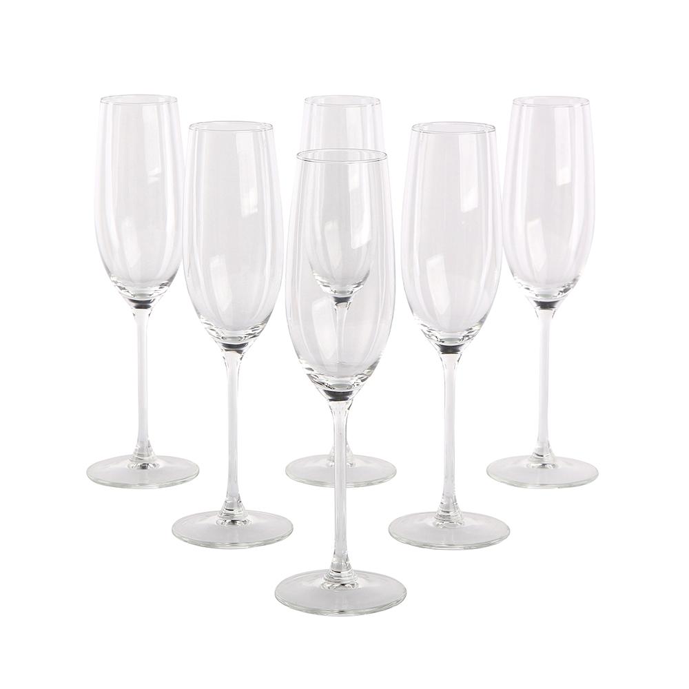 Komplet kieliszków do szampana Altom Design 210 ml (6 sztuk)