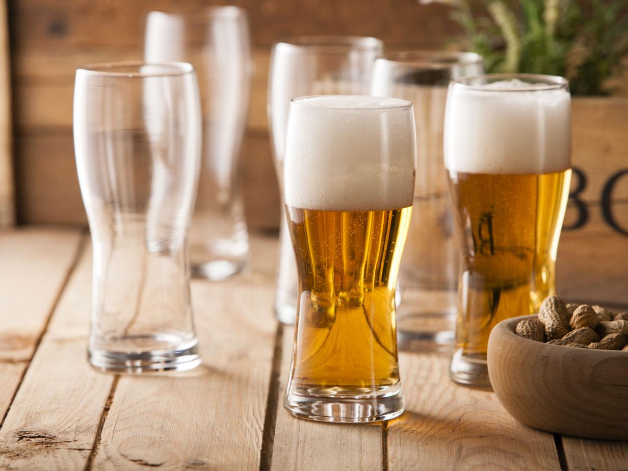 Szklanki / pokale do piwa Praga 500 ml, komplet 6 szt.