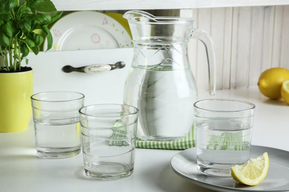 Szklanka do napojów Altom Design Tobruk 240 ml, dekoracja Slice