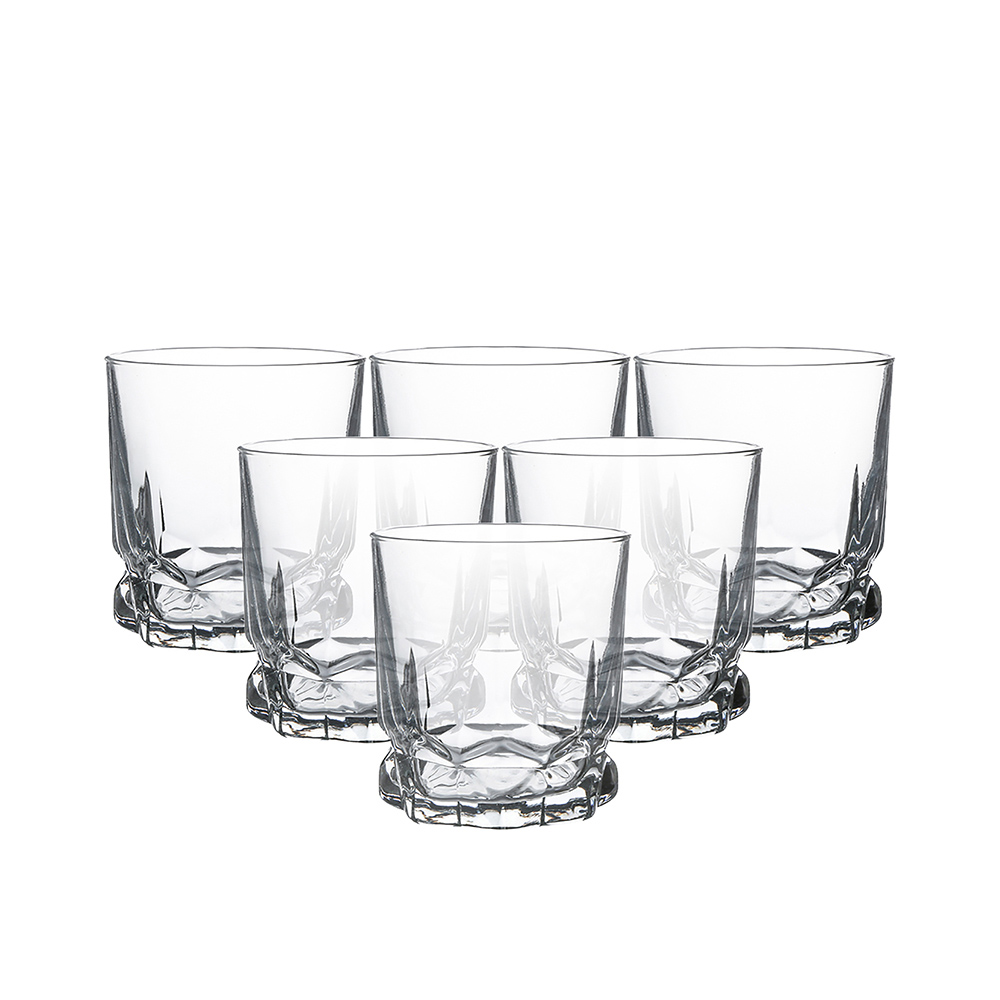 Szklanki do wody soku whisky Altom Design Ibiza 310 ml, komplet 6 szt.