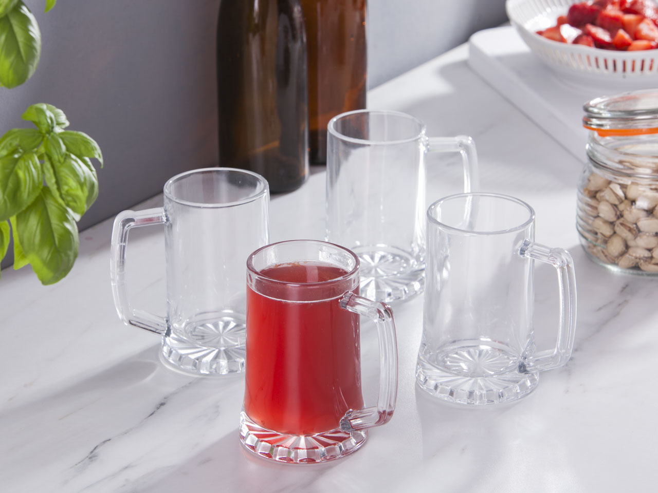 Kufle do piwa szklane COK Amberes 260 ml (4 sztuki)