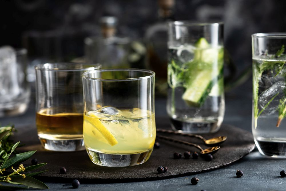 Szklanki do whisky Hrastnik Freya 330 ml (6 sztuk)