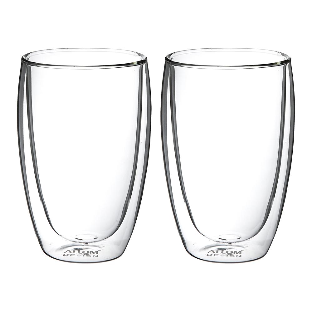 Szklanka termiczna z podwójnymi ściankami komplet 2 szt. / Szklanki termiczne Altom Design Andrea 380 ml (2 sztuki)