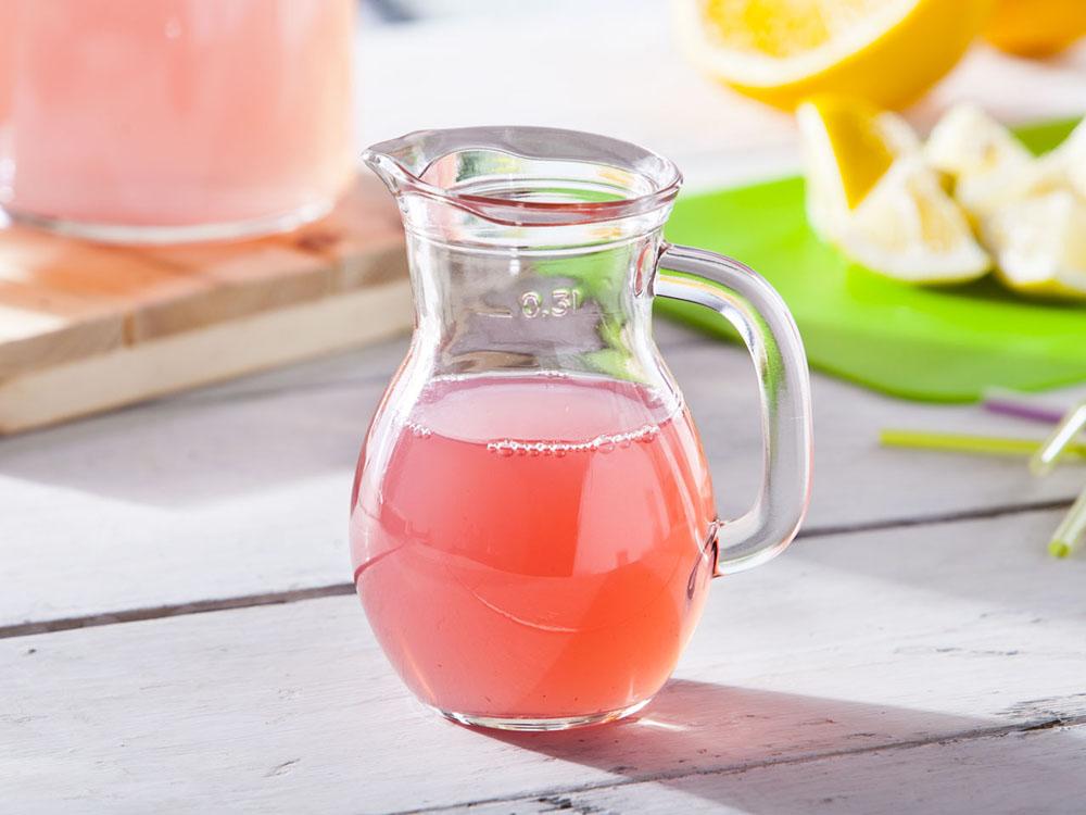 Dzbanek szklany do soku / syropu / mleka Ben 300 ml