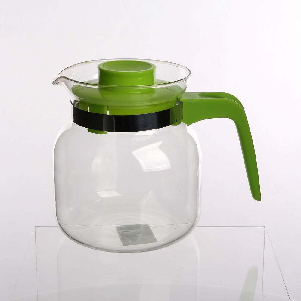 Dzbanek szklany z plastikową pokrywką Altom Design 1,2 l