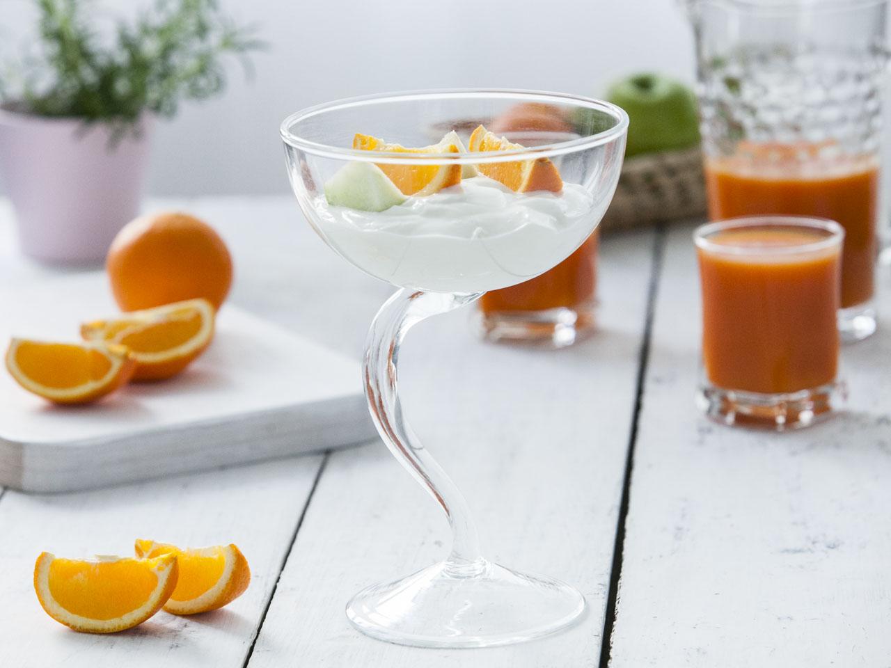 Pucharek do lodów szklany Edwanex 500 ml