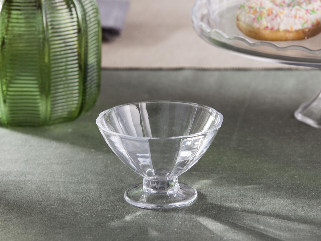 Pucharek / Kielich do lodów i deserów szklany Altom Design 250 ml