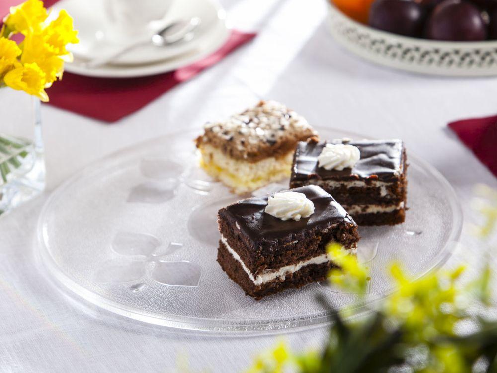 Patera szklana / talerz na ciasto 31,5 cm