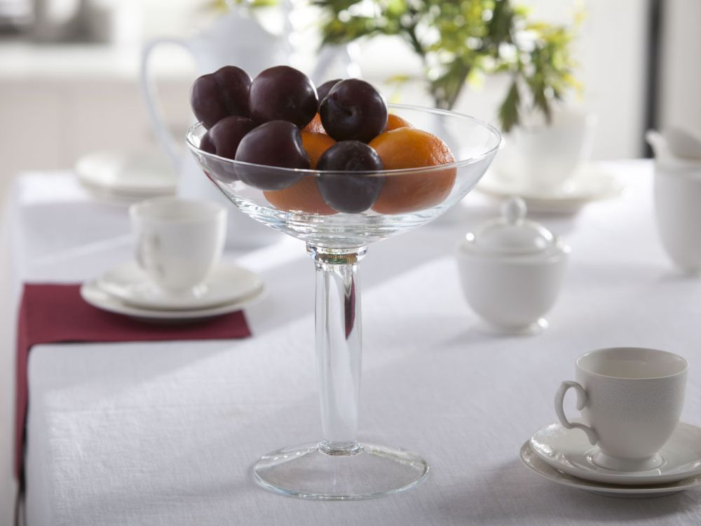 Patera na owoce / owocarka szklana 27 cm