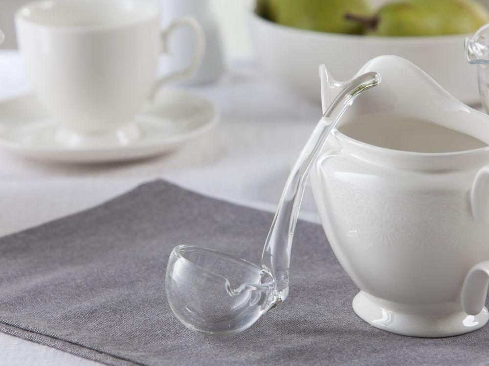 Łyżka do sosu szklana Edwanex 16 cm