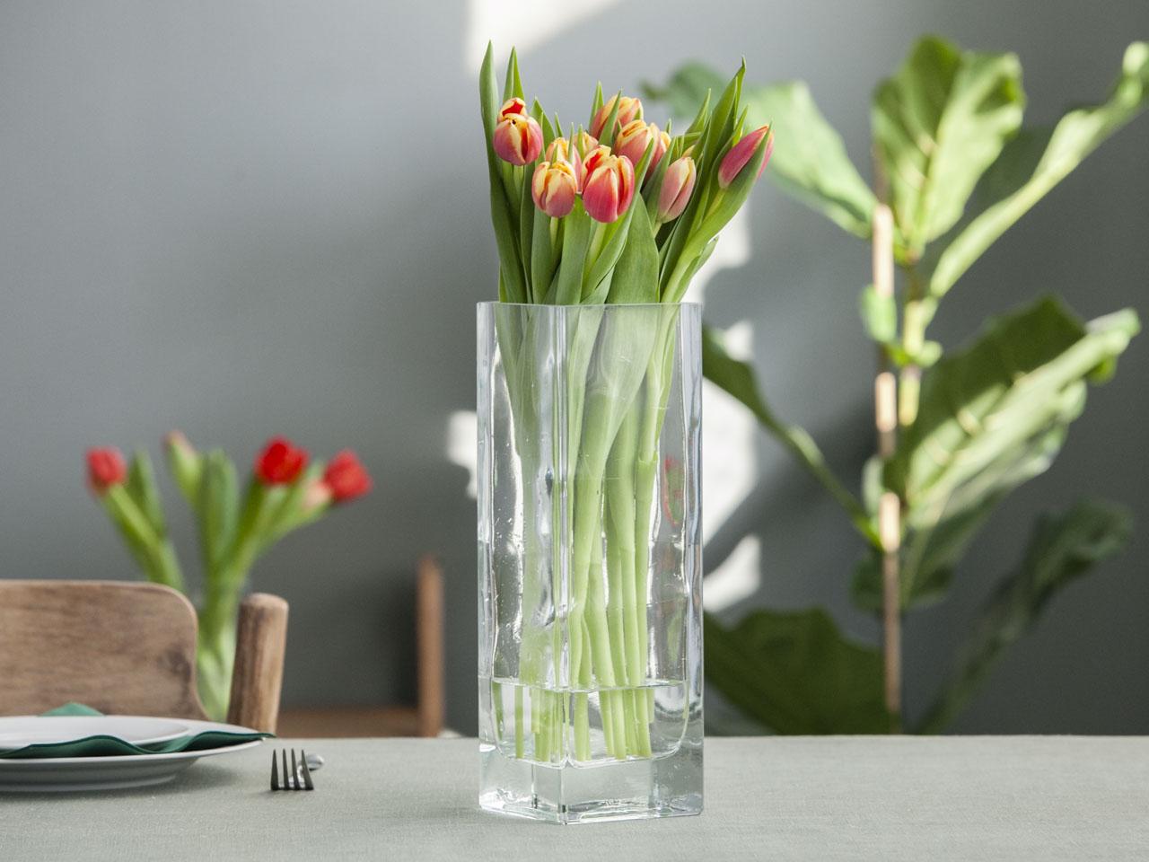 Wazon szklany Edwanex 20x30 cm