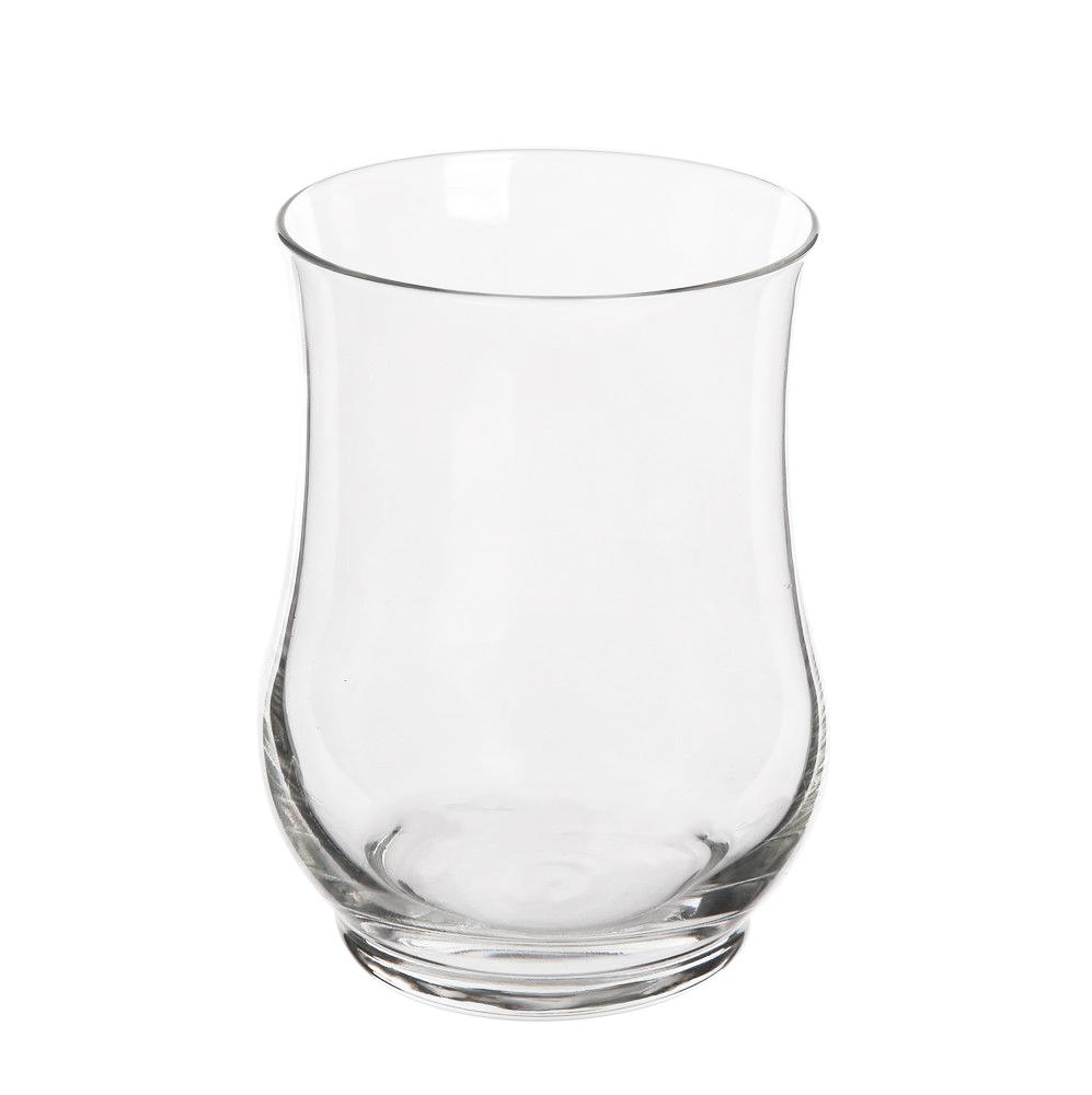 Świecznik szklany ozdobny dekoracyjny / wazon szklany Royal Leerdam 12,5 cm