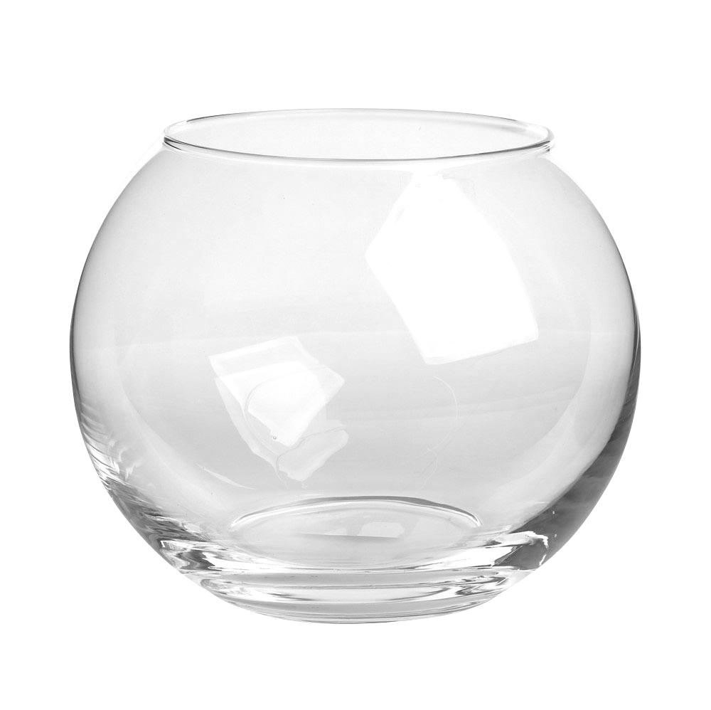 Wazon kula szklany Edwanex 20 cm