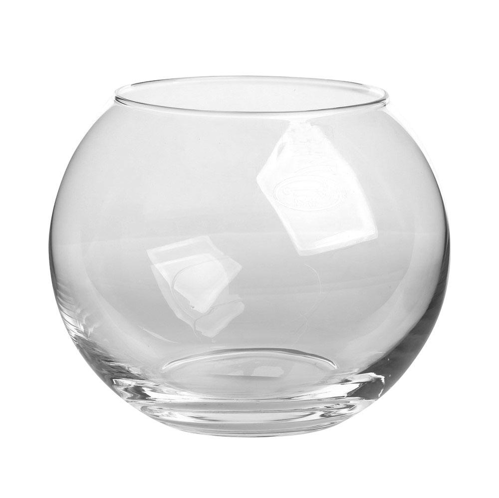 Wazon kula szklany Edwanex 30 cm