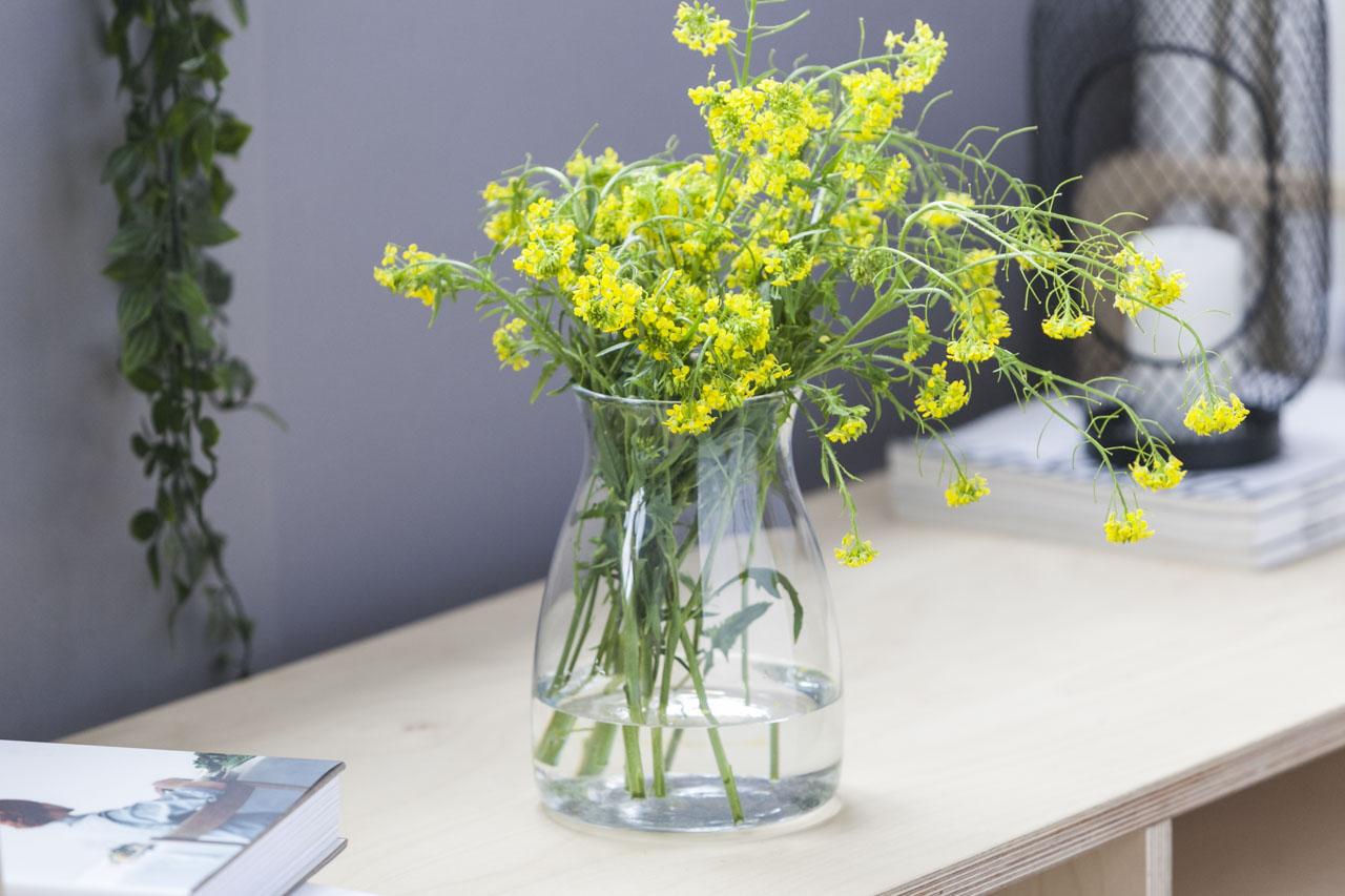 Wazon szklany na kwiaty Altom Design Malwa 20 cm