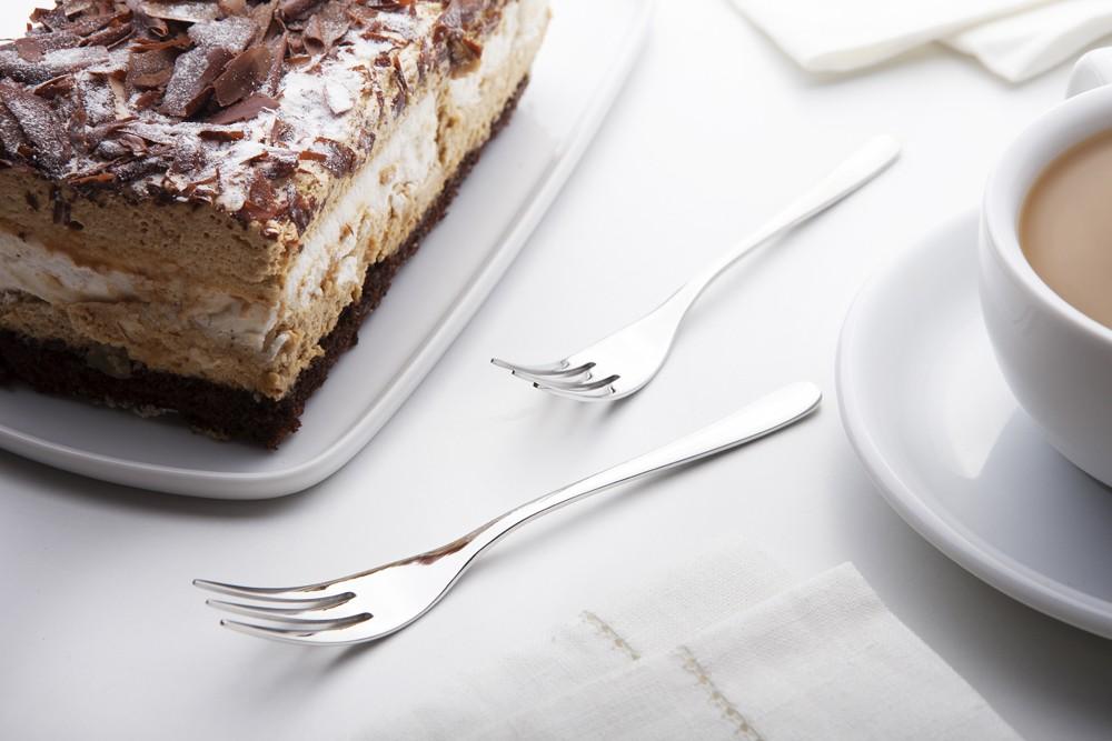 Widelczyki do ciasta Gerpol Venus połysk (6 elementów)