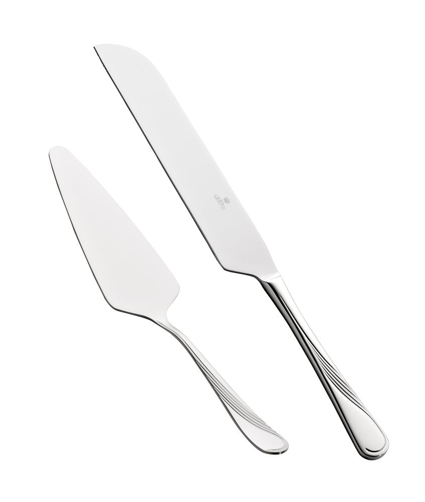 Łopatka i nóż do ciasta Gerpol Violino Połysk (2 elementy)