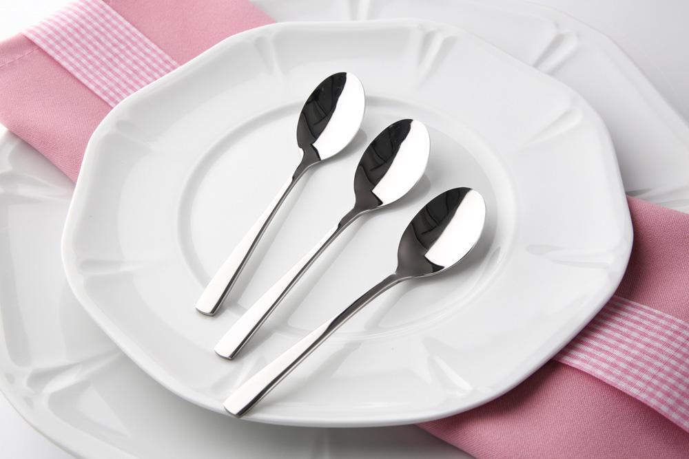 Future 6pcse set coffee spoon flocking
