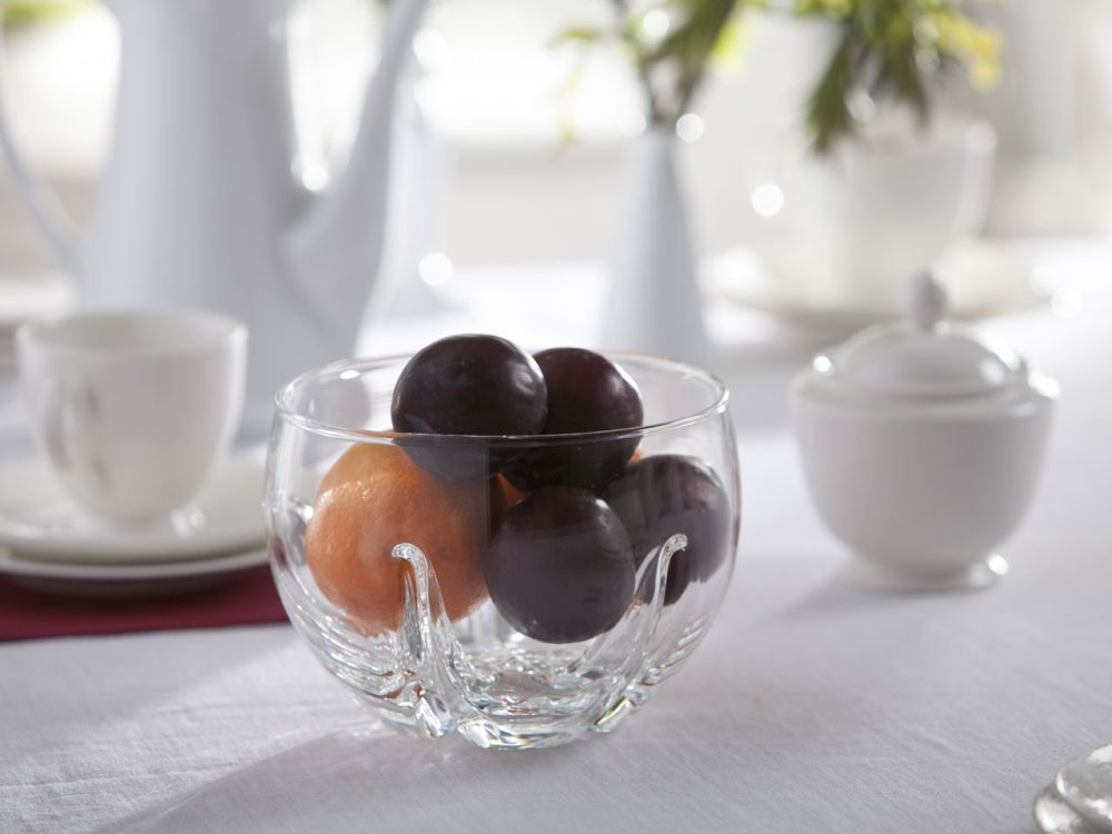 Miska / Salaterka szklana Edwanex Mandarynka 17 cm